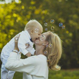 happiness, kids, mom