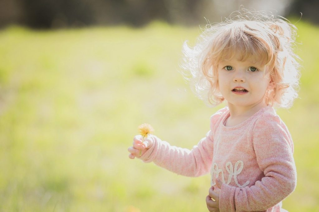 child, nature, summer